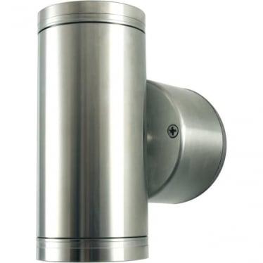 PURE LED Pillar Light Retro (230V Mains)- stainless steel