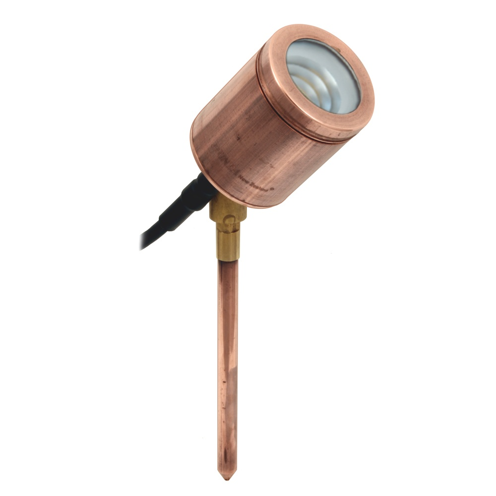 Low Voltage Landscape Lighting Copper : Hunza outdoor lighting pure led spike spot adjustable