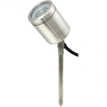 PURE LED Spike Spot Adjustable - stainless steel - Low Voltage