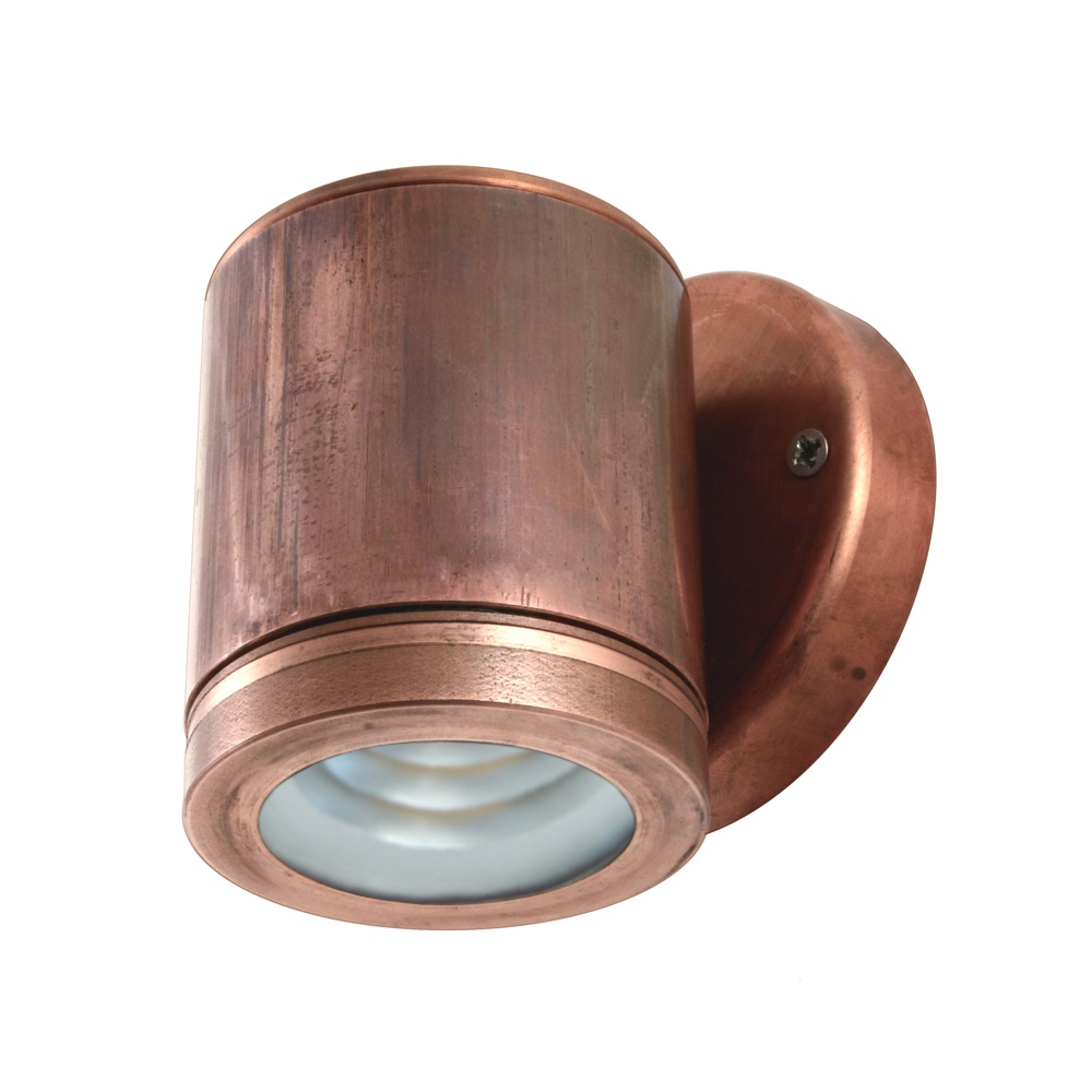 Hunza Outdoor Lighting PURE LED Wall Down Light Copper Hunza Outdoor Ligh