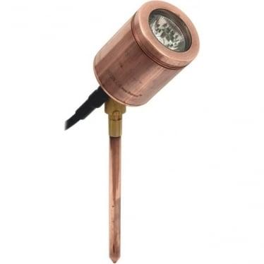 Spike Spot Adjustable - copper - Low Voltage