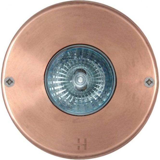 Hunza Outdoor Lighting Step Light - copper - Low Voltage