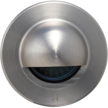 Step Light Seamless Eyelid - stainless steel - Low Voltage