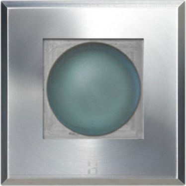 Step Light Square on Square - stainless steel - Low Voltage