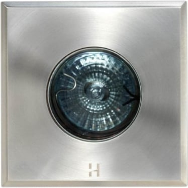 Step Light Square - stainless steel - Low Voltage