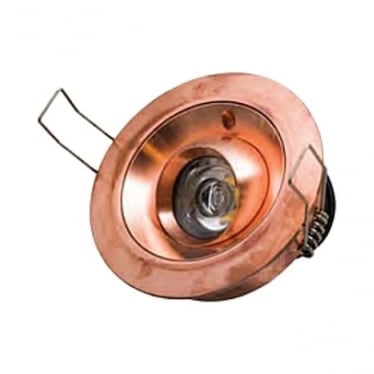 Tilting Eave Light 6w Copper - Low Voltage