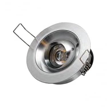 Tilting Eave Light 6w Stainless Steel