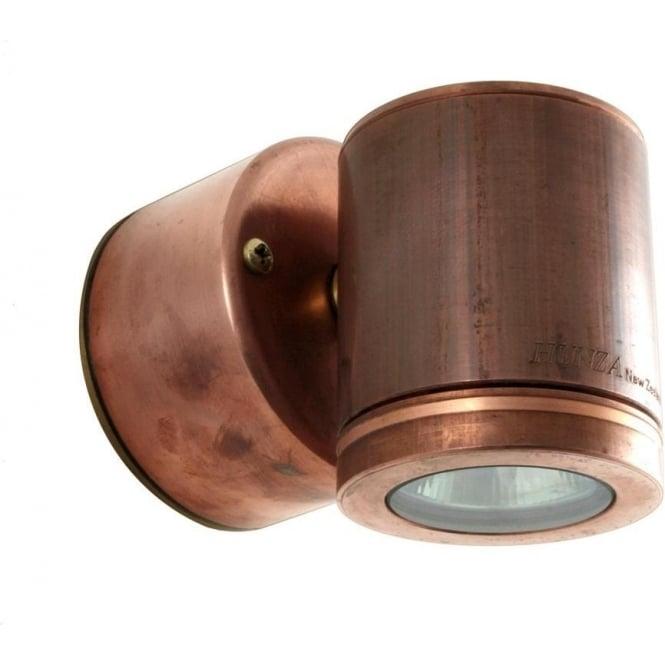 Hunza Outdoor Lighting Wall Down Light Retro (230V Mains) - copper - Hunza Outdoor Lighting from ...
