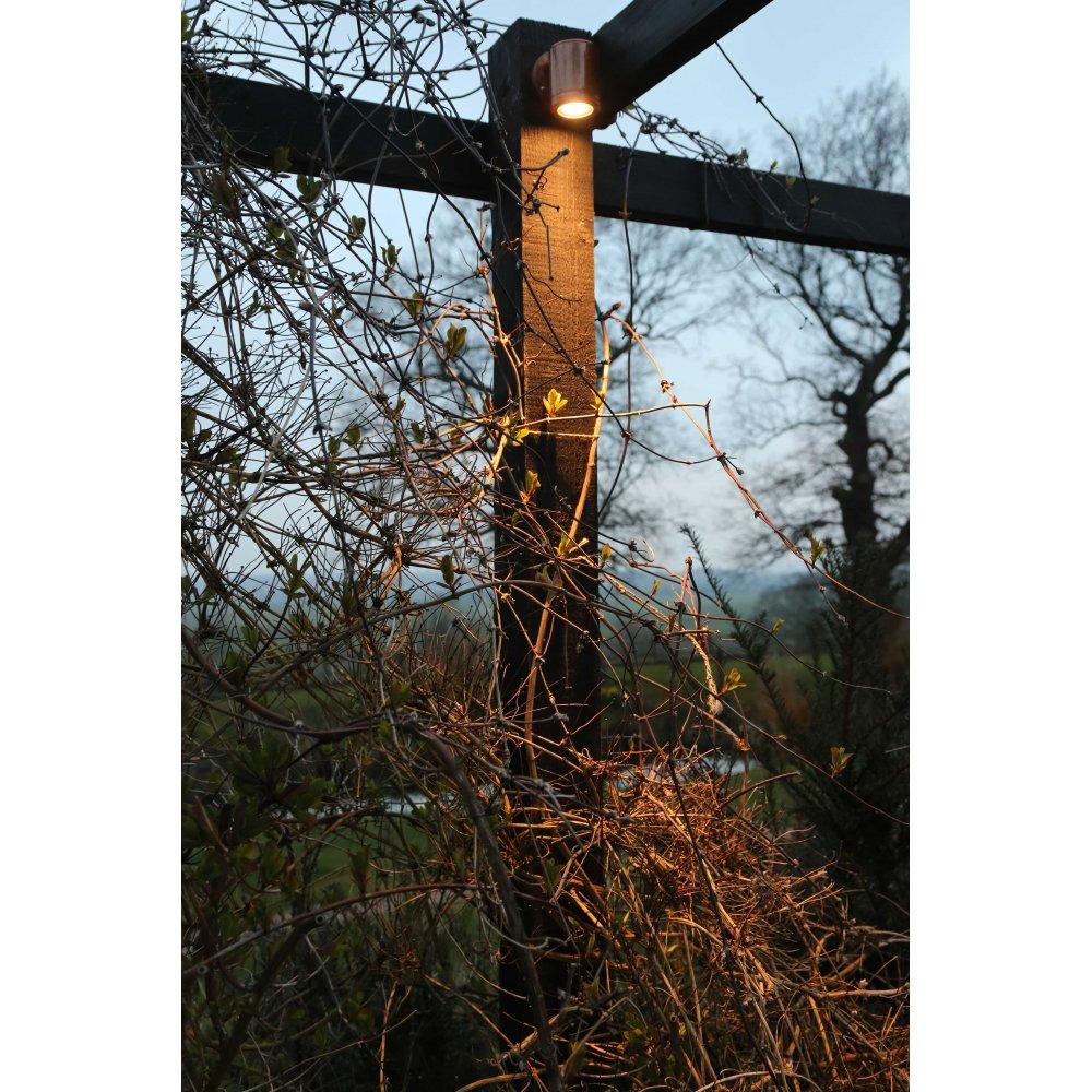 Hunza Outdoor Lighting Wall Down Light Retro - copper- MAINS - Hunza Outdoor Lighting from ...