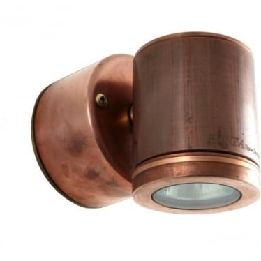 Wall Down Light Retro - copper- MAINS