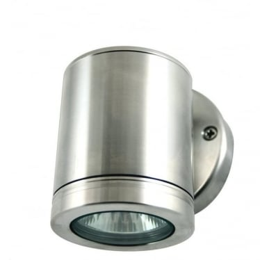 Wall Down Light - stainless steel
