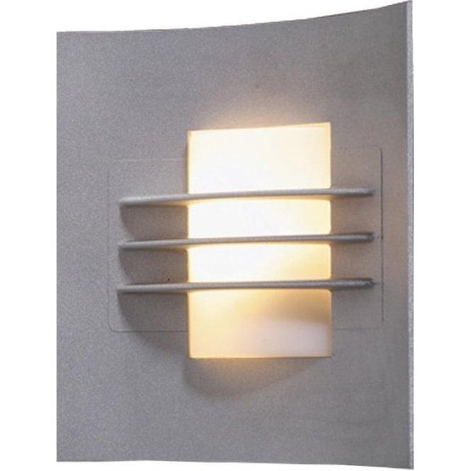 Konstsmide Garden Lighting Idun wall light - aluminium 508-312