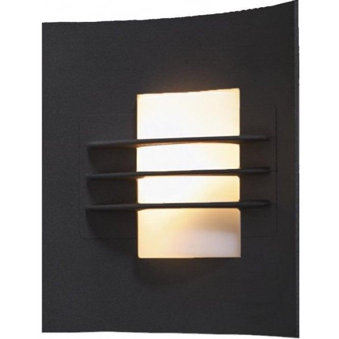 Konstsmide Garden Lighting Idun wall light - black 508-752