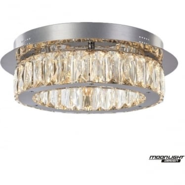 Carousel flush Fitting Chrome Dimmable