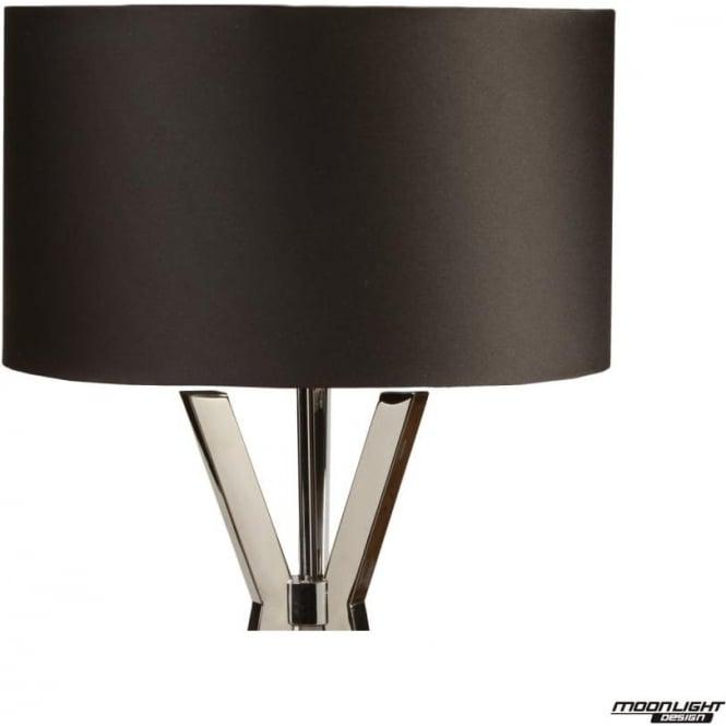 "Illuminati Floor Lamp Shade Black 18""/450mm"