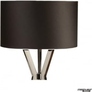 "Floor Lamp Shade Black 18""/450mm"