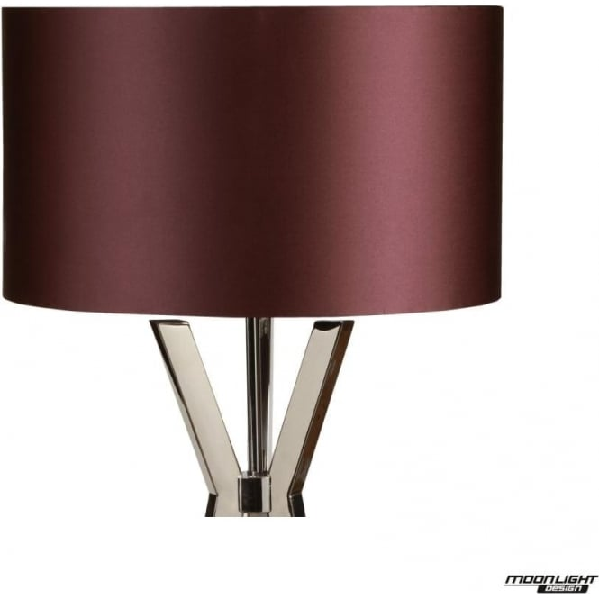 "Illuminati Floor Lamp Shade Damson 18""/450mm"