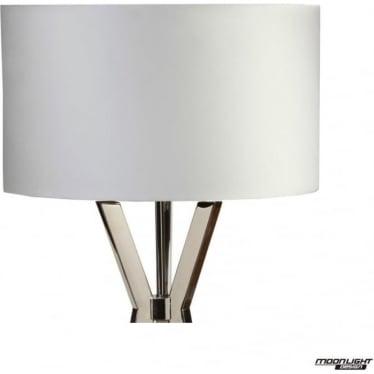 "Floor Lamp Shade Pearl 18""/450mm"