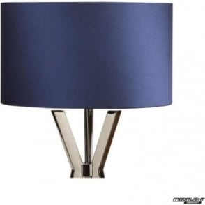 "Floor Lamp Shade Royal Blue 18""/450mm"