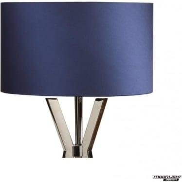 "Floor Lamp Shade Royal Blue 18""/450mm"