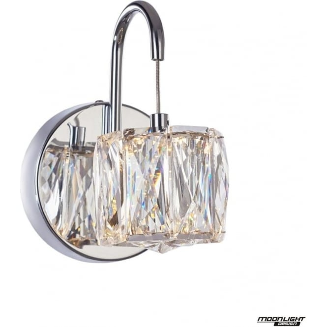 Illuminati Glacier Wall Light Chrome