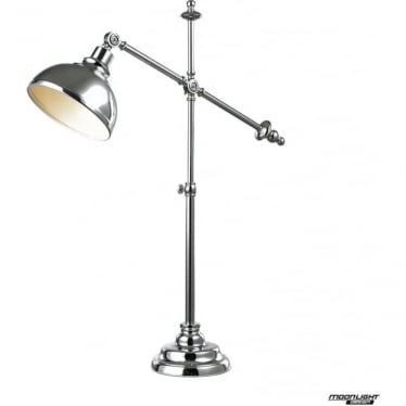 Harvey table lamp - Chrome