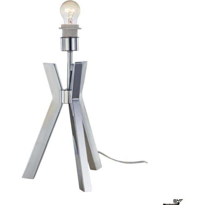Illuminati Joseph Table Lamp Chrome - Base Only
