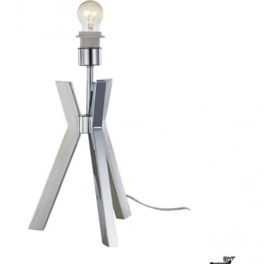 Joseph Table Lamp Chrome - Base Only
