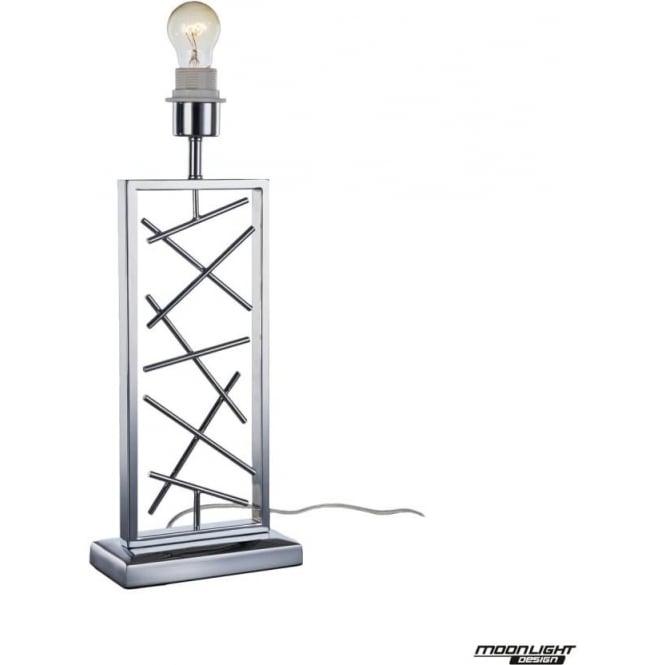 Illuminati Lucie Table Lamp Chrome