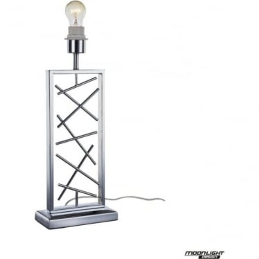 Lucie Table Lamp Chrome