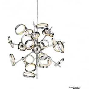 Meridian 26 Light Pendant Chrome