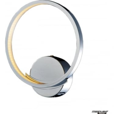 Meridian Single Wall Light Chrome