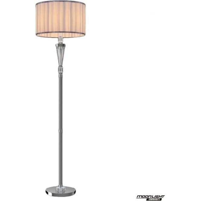 Illuminati Ophelia Floor Lamp Chrome