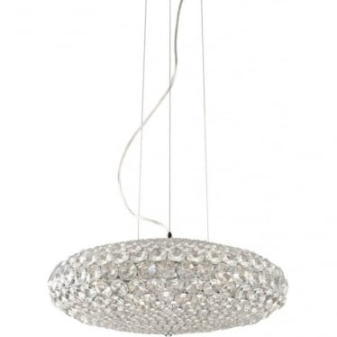 Roma D50 Pendant Clear Dimmable