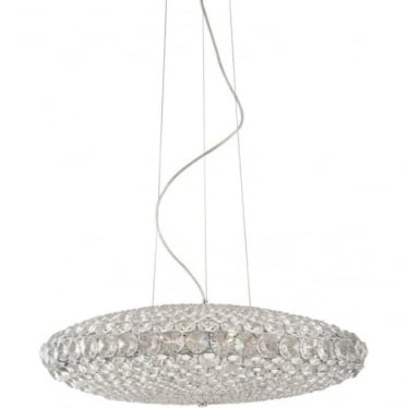 Roma D65 Pendant Clear Dimmable