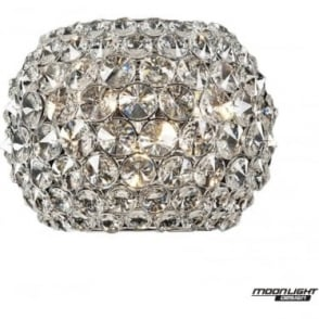 Star Wall Light Clear Crystal Dimmable