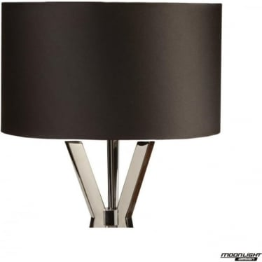 "Table Lamp Shade Black 12""/300mm"