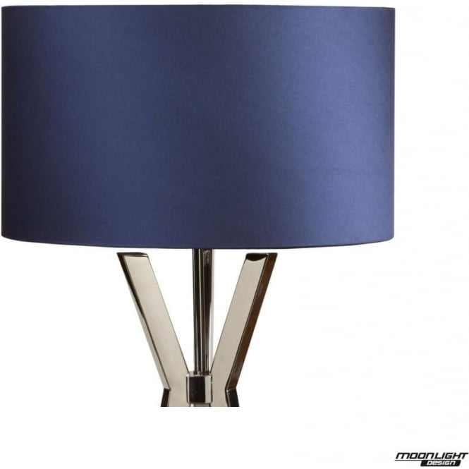 "Illuminati Table Lamp Shade Royal Blue 12""/300mm"