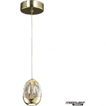 Terrene Single Pendant Gold