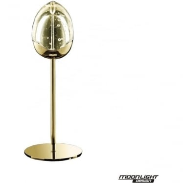 Terrene Single Table Lamp Gold