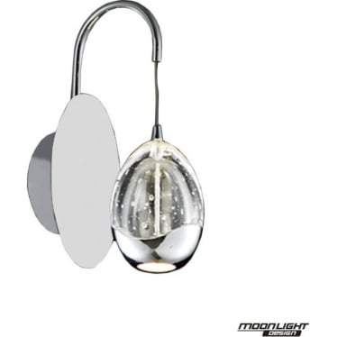 Terrene Single Wall Light Chrome