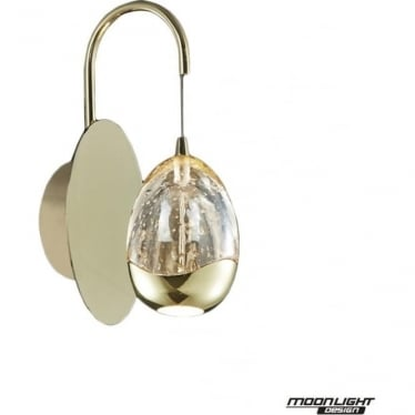 Terrene Single Wall Light Gold