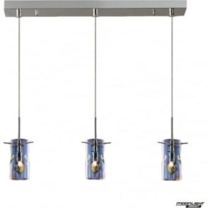 Venus 3 Light Pendant Translucent Multi Dimmable