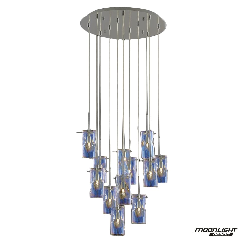brushed with nickel shade zoom lighting image pendant cylindrical product multi item brinley chandelier kichler light