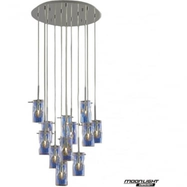 Venus 9 Light Pendant Translucent Multi Dimmable