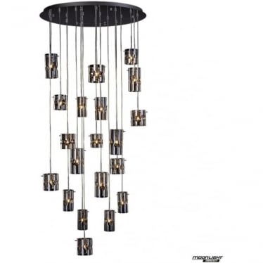 Venus LED 20 light pendant - Champagne tint - Dimmable