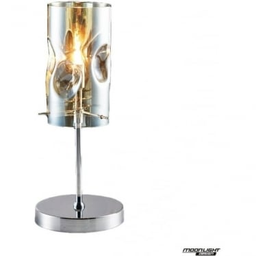 Venus Single Table Lamp Champagne Dimmable