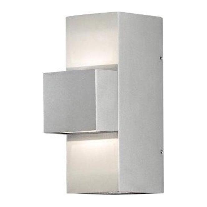 Konstsmide Garden Lighting Imola wall lmap high power LED - aluminium 7934-310