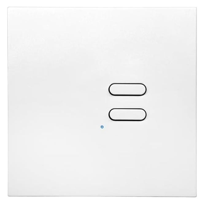 Wise Box Remote Control Intense Wireless Wall Switch - 2 button - white