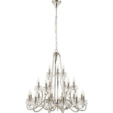 Oksana 21 light pendant - Nickel